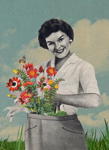 The florist Sammy Slabbinck