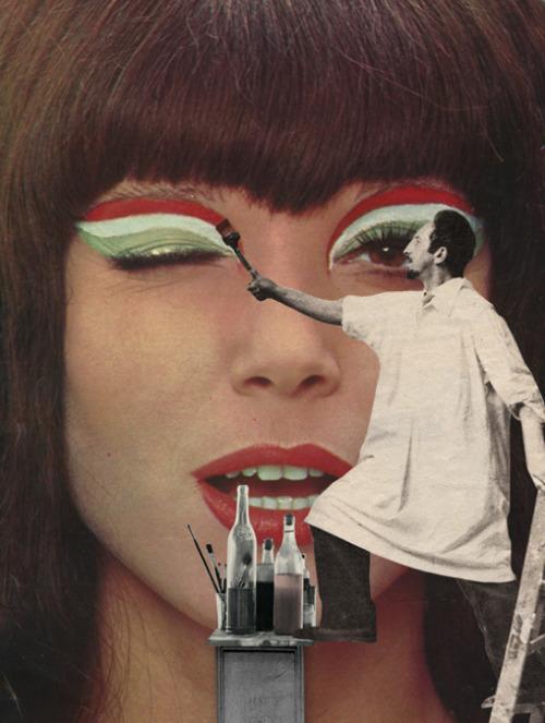 Endometrioza w sztuce The make up artists Sammy Slabbinck