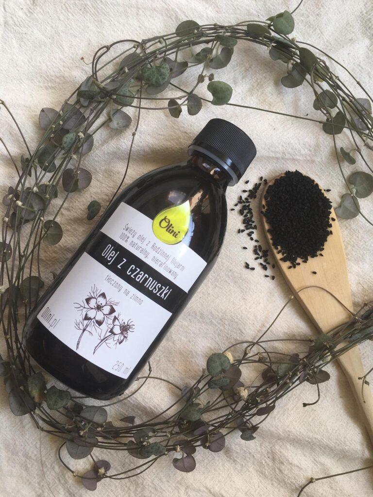 olej z czarnuszki Olini